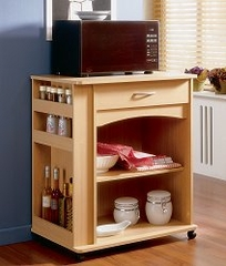 Microwave Cart - Nexera Furniture - 597