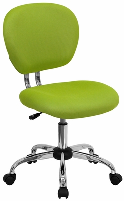 Mid-Back Apple Green Mesh Task Chair - H-2376-F-GN-GG