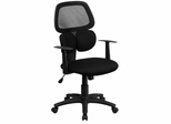 Mid-Back Black Mesh Chair - BT-2755-BK-GG