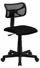 Mid-Back Black Mesh Task Chair - BT-6138-1-BK-GG
