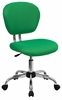 Mid-Back Bright Green Mesh Task Chair - H-2376-F-BRGRN-GG