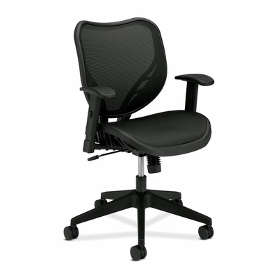 Mid-Back Chair - Black - BSXVL552MST1