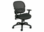 Mid-Back Chair - Black Fabric - BSXVL712MM10