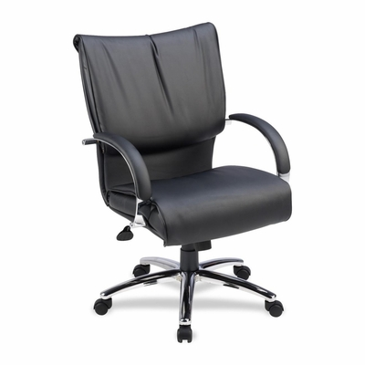 Mid-Back Chair - Black - LLR69515