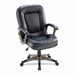 Mid-back Chair - Black - LLR69519