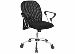 Mid Back Contemporary Mesh Ventilated Chair - BT-215-GG