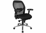 Mid Back Contemporary Mesh Ventilated Chair - LF-W42-GG