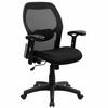 Mid Back Contemporary Mesh Ventilated Chair - LF-W42B-GG