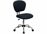 Mid-Back Gray Mesh Task Chair - H-2376-F-GY-GG