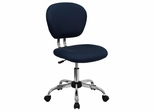 Mid-Back Navy Mesh Task Chair - H-2376-F-NAVY-GG