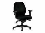 Mid-Back Task Chair - Black - HON7828NT10T