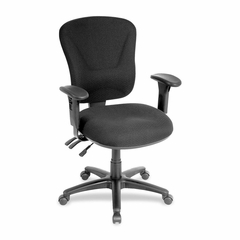 Mid-back Task Chair - Black - LLR66128