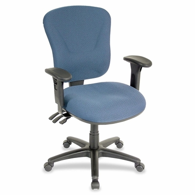 Mid-back Task Chair - Blue - LLR66126