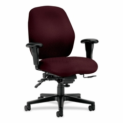 Mid-Back Task Chair - Wine - HON7828NT69T