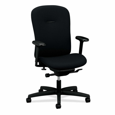 Mid-back Work Chair - Black - HONMAM1HUBNT10T