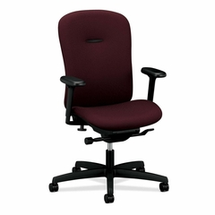 Mid-back Work Chair - Wine - HONMAM1HUBNT69T