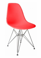 Mid-Century Accent Chair in Red - DC-231W-RD