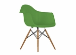 Mid-Century Dining Chair in Green - DC-311V-GR