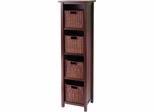 Milan 5Pc Storage Shelf - Winsome Trading - 94411