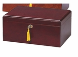 Milano 100 Capacity Cigar Humidor in Cherry - HUM-75DC