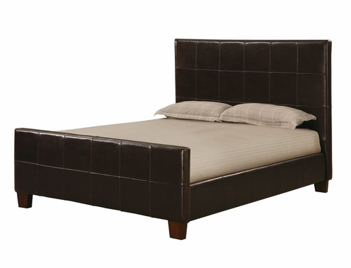 Milano California King Size Panel Bed - Hudson - Modus Furniture - ML08P6