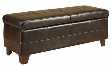 Milano Storage Bench - Hudson - Modus Furniture - ML0893