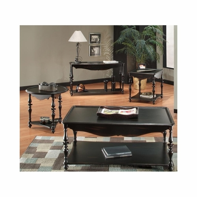 Mill Valley Accent Table Set 4 Piece Weathered Black - Largo - LARGO-ST-T801-SET