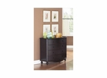 Mill Valley Hall Chest with 4 Drawers Weathered Black - Largo - LARGO-ST-T801-135