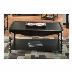 Mill Valley Rectangular Cocktail Table Weathered Black - Largo - LARGO-ST-T801-100