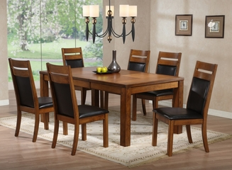 "Millcreek ""Medium Oak"" Dining Room Furniture Set - Powell Furniture - 534-DSET"