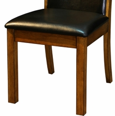 "Millcreek ""Medium Oak"" Side Chair, 18"" Seat Height (Set of 2) - Powell Furniture - 534-434-SET"
