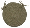 "Millennium Emerald 15"" Braided Chair Pad - Rhody Rug - M-61415CPEM"