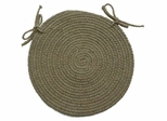 "Millennium Sunrise 15"" Braided Chair Pad - Rhody Rug - M-81415CPSU"
