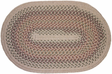 Millennium Willow 8'x11' Braided Rug - Rhody Rug - M-414811WL