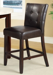 "Milton 24"" Counter Stool in Cappuccino - Set of 2 - 103779"