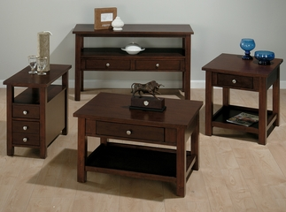Milton Cherry 4PC Accent Table Set - 251-5