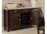 Milton Server with Marble Top - 103785