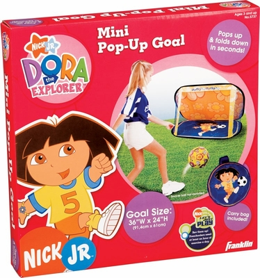 Mini Dora the Explorer Pop-Up Goal - Franklin Sports