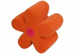 Mini Flower Ottoman Orange - LumiSource - CHR-FLWROTTO-O