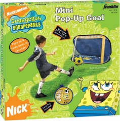 Mini SpongeBob SquarePants Pop-Up Goal - Franklin Sports
