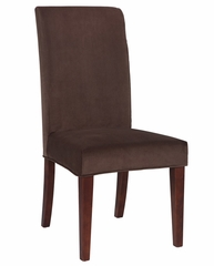 "Mink Brown Velvet ""Slip Over"" (Fits 741-440 Chair) - Powell Furniture - 741-255Z"