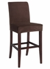 "Mink Brown Velvet ""Slip Over"" for Counter Stool or Bar Stool - Powell Furniture - 742-255Z"