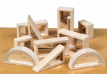 Mirror Blocks - 10 Pcs in Natural - Guidecraft - G3017