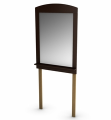 Mirror in Chocolate - Logik - South Shore Furniture - 3359120