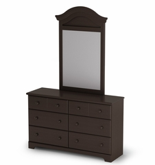 Mirror in Chocolate - Summer Breeze - South Shore Furniture - 3219120
