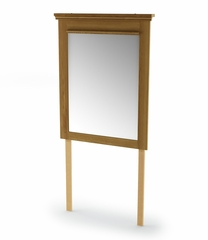Mirror in Golden Oak - Versa - South Shore Furniture - 3181146
