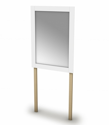 Mirror in Pure White - Vito - South Shore Furniture - 3150143