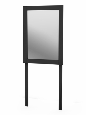 Mirror in Solid Black - South Shore Furniture - 3170143