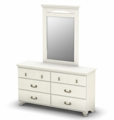 Mirror in Vanilla Cream - Noble - South Shore Furniture - 3510146