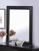 Mirror - Louis Philippe Mirror in Deep Black - Coaster - 201074